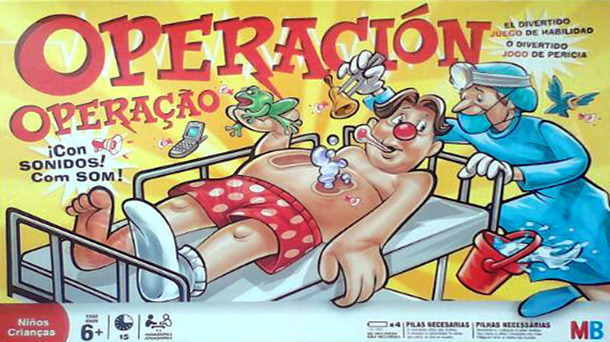 Surgeon Simulator, Operacion version 2.0?